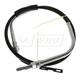 1ABRC00047-Parking Brake Cable