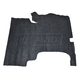 1AMAT00595-1957 Pontiac Chieftain Trunk Mat in (28 Broken Weave Burtex)