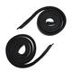 1AWSR00073-1968 Roofrail Weatherstrip Seal Pair