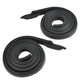 1AWSR00072-1966-67 Roofrail Weatherstrip Seal Pair