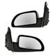 1AMRP00123-Saturn Vue Vue Hybrid Mirror Pair Black