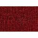 ZAICF01609-1985-89 Toyota MR2 Passenger Area Carpet 4305-Oxblood