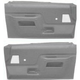 1AIDP00081-1987-91 Ford Molded Plastic Door Panels