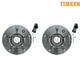 TKSHS00002-Wheel Bearing & Hub Assembly Front Pair