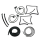 1AWSK00332-1978-80 T-Top Weatherstrip Seal Kit