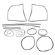 1AWSK00336-1958-64 Volkswagen Beetle Weatherstrip Seal Kit