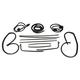 1AWSK00366-1970-72 Chevy Chevelle Malibu Weatherstrip Seal Kit