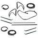 1AWSK00306-1987-91 Ford Bronco Complete Weatherstrip Seal Kit