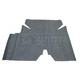 1AMAT00024-1969 American Motors Trunk Mat (Felt Herringbone Pattern)