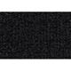 ZAICK02193-1974-77 Volkswagen Beetle Complete Carpet 801-Black