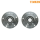 TKSHS00019-BMW Wheel Bearing & Hub Assembly Pair