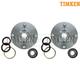 TKSHS00038-Wheel Bearing & Hub Kit Pair Front