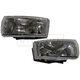 1ALFP00090-2004-05 Chevy Malibu Fog / Driving Light Pair