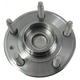 MCSHR00004-Wheel Bearing & Hub Assembly Rear Motorcraft HUB38