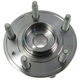 MCSHR00002-Wheel Bearing & Hub Assembly Rear Motorcraft HUB37