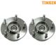 TKSHS00043-Wheel Bearing & Hub Assembly Pair Rear Timken 512107