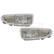 1ALFP00096-2000 Dodge Neon Plymouth Neon Fog / Driving Light Pair