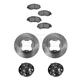 1ABMS00049-Acura CL Honda Accord Brake & Wheel Bearing Kit Front