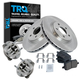 1ABMS00044-Chevy Malibu Pontiac G6 Brake & Wheel Bearing Kit Front