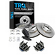 1ABMS00006-Brake Pad  Rotor & Wheel Bearing Kit