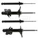 MNSSP00246-1995-98 Nissan 240SX Shock & Strut Kit Front Rear Monroe 71337  71429  71430