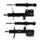 MNSSP00236-2003-08 Pontiac Vibe Toyota Matrix Shock & Strut Kit Front Rear Monroe 72116  72117  71373