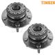 TKSHS00098-Hyundai Tiburon Wheel Bearing & Hub Assembly Pair  Timken HA590200