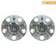TKSHS00095-Acura TSX Honda Accord Wheel Bearing & Hub Assembly Rear Pair  Timken HA590019
