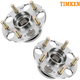 TKSHS00093-1999-04 Honda Odyssey Wheel Bearing & Hub Assembly Rear Pair