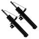 MNSSP00325-Volkswagen Strut Assembly Front Pair Monroe 72311