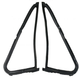 1AWSD00409-Vent Glass Window Weatherstrip Seal Pair