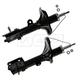 MNSSP00500-Hyundai Tucson Kia Sportage Shock Absorber Rear Pair  Monroe OESpectrum 72221  72222