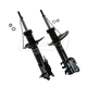 MNSSP00442-2000-01 Nissan Sentra Strut Assembly Front Pair  Monroe OESpectrum 71566  71567