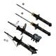 MNSSP00444-2000-01 Nissan Sentra Shock & Strut Kit  Monroe OESpectrum 71312  71566  71567