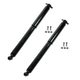 MNSSP00411-Shock Absorber Rear Pair  Monroe Sensa-Trac 37035