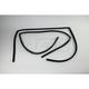 1AWSD00461-1992-99 Window Glass Run Channel Seal Pair