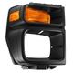 1ALHB00020-Ford Headlight Bezel with Parking Turn Signal Light Passenger Side