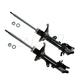 MNSSP00438-Hyundai Elantra Strut Assembly Rear Pair  Monroe OESpectrum 71406  71407