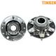 TKSHS00300-Hyundai Entourage Kia Sedona Wheel Bearing & Hub Assembly Rear Pair  Timken HA590016