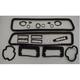 1ABGS00048-1969 Chevy Camaro Paint Gasket Set