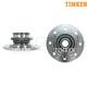TKSHS00332-1994-97 Dodge Ram 2500 Truck Wheel Bearing & Hub Assembly Front Pair