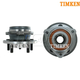 TKSHS00330-Jeep Cherokee Wrangler Wheel Bearing & Hub Assembly Front Pair Timken HA597449
