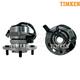 TKSHS00336-1990-94 Chevy Astro GMC Safari Wheel Bearing & Hub Assembly Front Pair Timken 515005