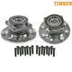 TKSHS00349-Dodge Ram 2500 Truck Wheel Bearing & Hub Assembly Front Pair