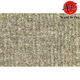 ZAICK11616-1986-89 Honda Accord Complete Carpet 7075-Oyster/Shale