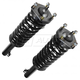 MNSSP00733-Jeep Shock & Spring Assembly Front Pair  Monroe Quick-Strut 171377L  171377R