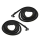 1AWSD00218-Chevy Corvair Door Weatherstrip Seal Pair