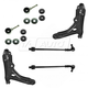 1ASFK01673-Volkswagen Cabrio Golf Jetta Steering & Suspension Kit