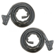 1AWSD00300-Door Weatherstrip Seal Pair