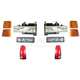 1ALHT00001-Chevy Headlight  Corner Light  Parking Light and Tail Light Kit